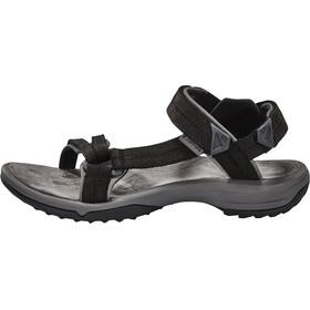 Teva W's Terra FI Lite Leather Sandals Black